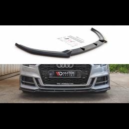 Front Splitter V.3 Audi S3 / A3 S-Line 8V Facelift Textured