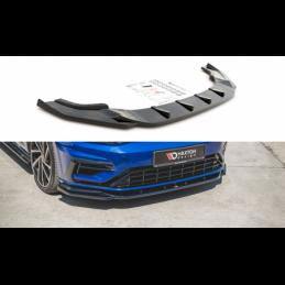 Front Splitter V.9 VW Golf 7 R Facelift Textured