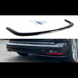 Central Rear Splitter Volkswagen Caddy Mk. 4 Gloss Black