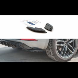 Rear Side Splitters SEAT Leon Mk3 FR Facelift Gloss Black