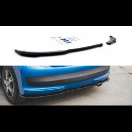 Rear Side Splitters Peugeot 207 Sport Gloss Black