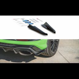 Rear Side Splitters Audi RSQ3 F3 Gloss Black