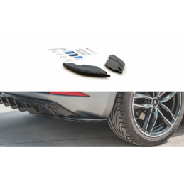 Rear Side Splitters SEAT Leon Mk3 FR Facelift Textured