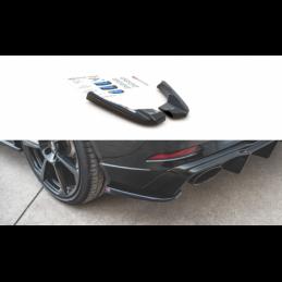Rear Side Splitters V.2 Audi RS3 8V Sportback Facelift Textured