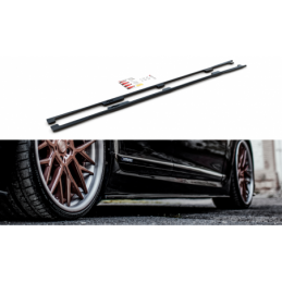 Side Skirts Diffusers Lexus LS Long Wheelbase Mk4 Facelift Carbon Look