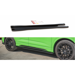 Side Skirts Diffusers Audi RSQ3 F3 Carbon Look
