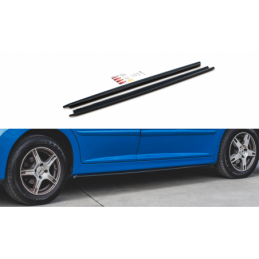 Side Skirts Diffusers Peugeot 207 Sport Gloss Black