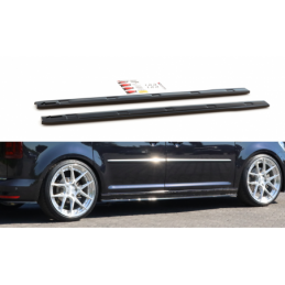 Side Skirts Diffusers Volkswagen Caddy Mk. 4 Gloss Black