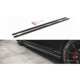 Side Skirts Diffusers VW Golf 7 GTI TCR Textured