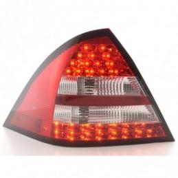 Kit feux arrières LED Mercedes Classe C W203 Limo 05-07 rouge / clair, Classe C W203