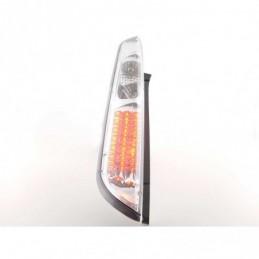 Kit feux arrières LED Ford Focus 2 5 portes 08-10 chrome, Focus II 04-10