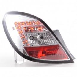 Kit feux arrières LED Opel Corsa D 5 portes 06-10 chrome, Corsa D