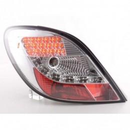 Kit feux arrières LED Peugeot 207 06-09 chrome, 207