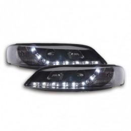 Phare Daylight LED DRL look Opel Vectra B 96-99 noir, Vectra B