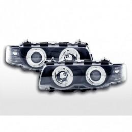 Phare avant BMW Série 7 type E38 99-02 noir, Serie 7 E32