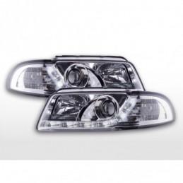 Phare Daylight LED Feux Diurnes Audi A4 B5 8D 94-99 chrome, A4 B5 94-01