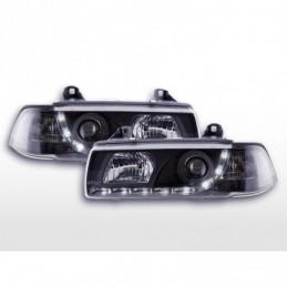 Phares Daylight Feux de jour à LED BMW Série 3 E36 berline 92-98 noir, Serie 3 E46 Berline/Touring