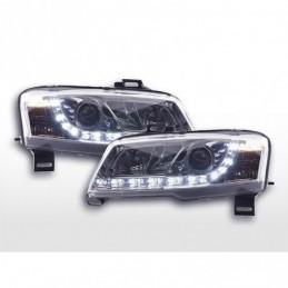 Phares Daylight LED Feux diurnes Fiat Stilo 01-06 chrome, Stilo