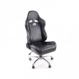 FK siège de sport chaise de bureau pivotante Baltimore noir chaise de direction chaise pivotante chaise de bureau, Sièges de bur