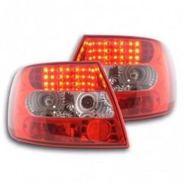 Kit feux arrières à LED Audi A4 berline type B5 95-00 clair / rouge, A4 B5 94-01
