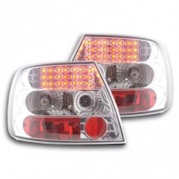 Kit feux arrières LED Audi A4 berline type B5 95-00 chrome, A4 B5 94-01