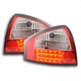 Kit feux arrières à LED Audi A6 berline type 4B 97-03 clair / rouge, A6 4B C5 97-04