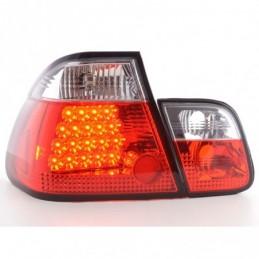 Kit feux arrière à LED BMW Série 3 berline type E46 98-01 clair / rouge, Serie 3 E46 Berline/Touring