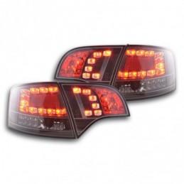 Kit feux arrières à LED Audi A4 Avant type 8E 04-08 noir, A4 B7 04-08