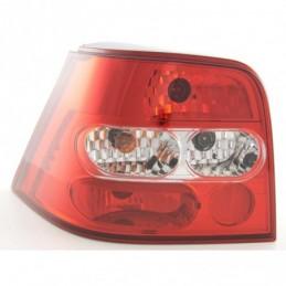 Jeu de feux arrière VW Golf 4 98-02, rouge / clair, Golf 4