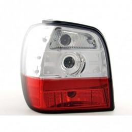 Jeu de feux arrière VW Polo type 6N 95-98, rouge / clair, Polo III 6N/6N2 94-01