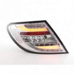 Kit feux arrière LED Mercedes Classe C W204 07-11 chrome, Classe C W204
