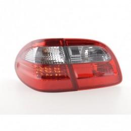 Kit feux arrière LED Mercedes Classe E Kombi (210) 99-03 rouge / noir, Classe E W210