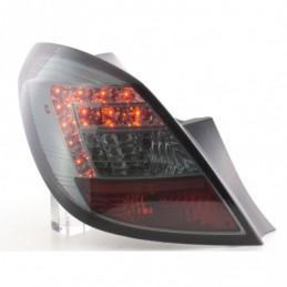 Kit feux arrières LED Opel Corsa D 5 portes 06-10 noir, Corsa D