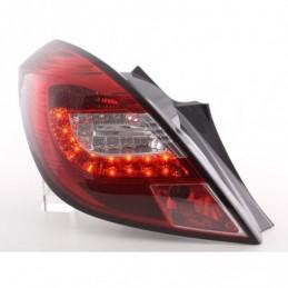 Feux arrières LED Set Opel Corsa D 3 portes 06-10 rouge / clair, Corsa D