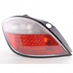 Kit feux arrières LED Opel Astra H 5 portes 04- rouge / clair, Astra H