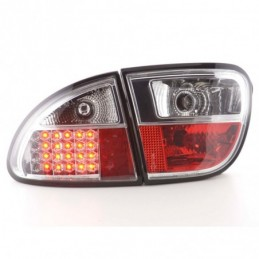 Kit feux arrières LED Seat Leon type 1M 1999-2005 chrome, Leon I 99-06