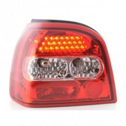Kit feux arrières LED VW Golf 3 type 1HXO 92-97 clair / rouge, Golf 3
