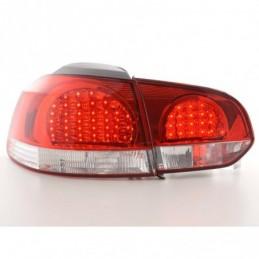 Kit feux arrières LED VW Golf 6 type 1K 08- clair / rouge, Golf 6