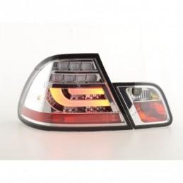 Kit feux arrières LED BMW 3er E46 Coupé 03-07 chrome, Serie 3 E46 Coupé/Cab
