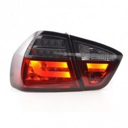 Kit feux arrière LED BMW Série 3 E90 Limo 05-08 rouge / noir, Serie 3 E90/E91