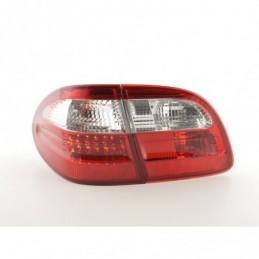 Kit feux arrière à LED Mercedes Classe E Kombi (210) 99-03 rouge / clair, Classe E W210