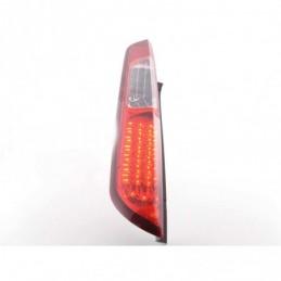 Kit feux arrières LED Ford Focus 2 5 portes 08-10 rouge / clair, Focus II 04-10