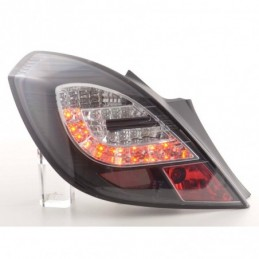 Kit feux arrières LED Opel Corsa D 3 portes 06-10 noir, Corsa D