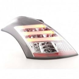 Kit feux arrières LED Suzuki Swift 2011- noir, Swift II 10-17