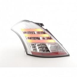 Kit feux arrières LED Suzuki Swift Sport 11-13 chrome, Swift II 10-17