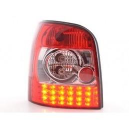 Kit feux arrières à LED Audi A4 Avant type B5 95-00 clair / rouge, A4 B5 94-01