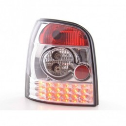Kit feux arrières LED Audi A4 Avant type B5 95-00 chrome, A4 B5 94-01