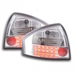 Kit feux arrières LED Audi A6 berline type 4B 97-03 chrome, A6 4B C5 97-04