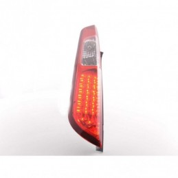Kit feux arrières LED Ford Focus 2 5 portes 04-07 clair / rouge, Focus II 04-10