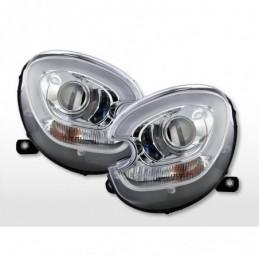 Phare avant Xenon Daylight LED DRL look Mini Countryman R60 10-17 chrome, Countryman R60